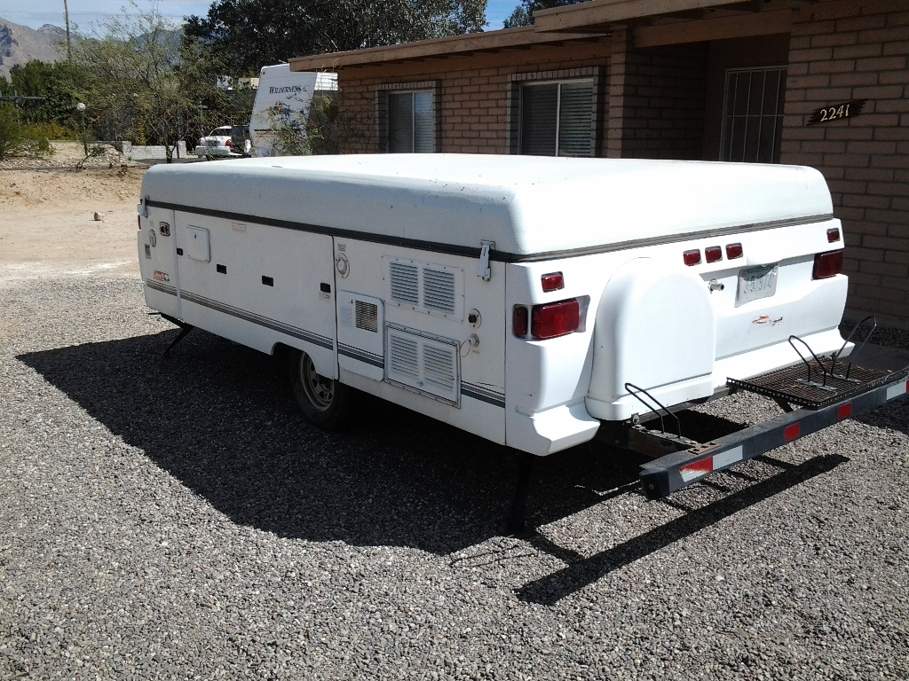 Repair Abs Roof On Coleman Tent Trailer